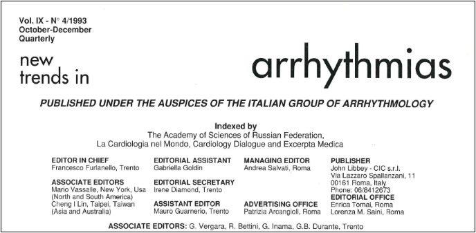 New Trend of Arrhythmias