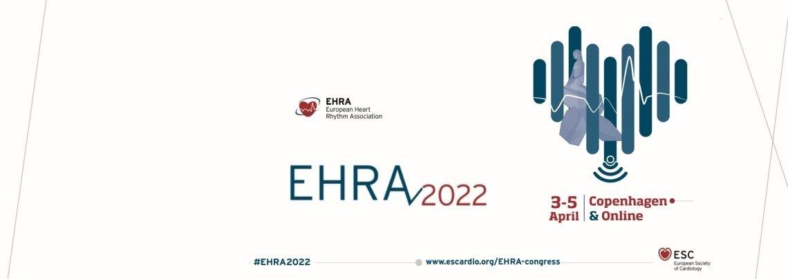 Congresso EHRA 2022: dal 3 al 5 aprile 2022